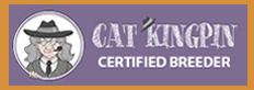 Cat Kingpin Certified Breeder